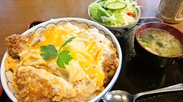 『長岡屋』カツ丼大盛り1