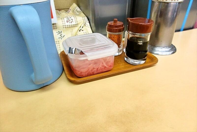 『牛丼専門サンボ』紅ショウガ