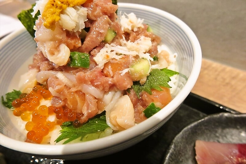 『たけし』海鮮ぜいたく丼8