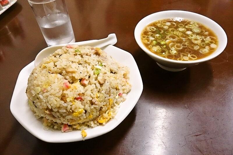 『中華料理つるや食堂』チャーハン大盛り1