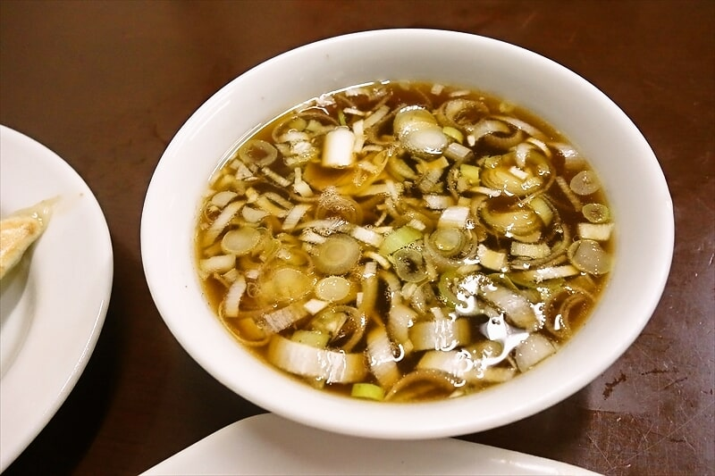 『中華料理つるや食堂』スープ