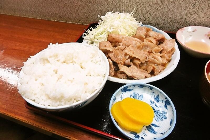 『お食事処 奄美』生姜焼き定食大盛り7