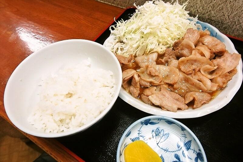 『お食事処 奄美』生姜焼き定食大盛り9