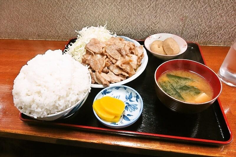 『お食事処 奄美』生姜焼き定食大盛り1