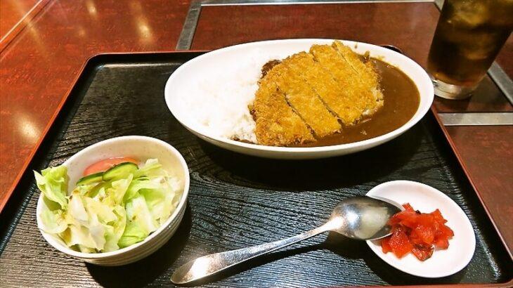 『焼肉居酒屋だるま 金田店』ランチでカツカレーを食べる時@厚木