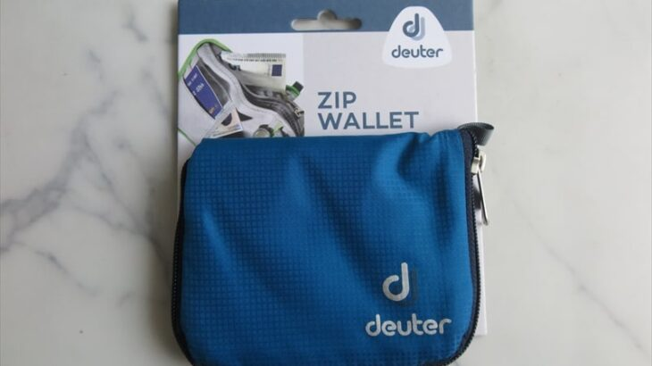 【deuter】『ドイター ジップワレット』レビュー【軽い財布】
