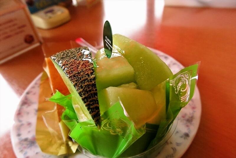 『不二家』熊本県産グリーンメロンのドルチェ2