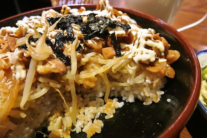 『ケント』デカ盛りブーブー丼9