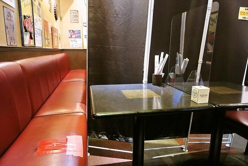 『ケント』テーブル席