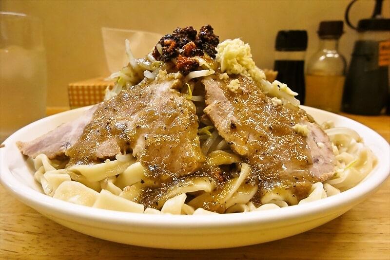 『きじとら』生たまねぎと黒胡椒の塩冷やし麺6