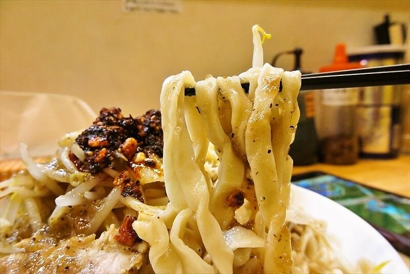 『きじとら』生たまねぎと黒胡椒の塩冷やし麺7