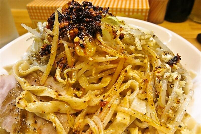 『きじとら』生たまねぎと黒胡椒の塩冷やし麺8