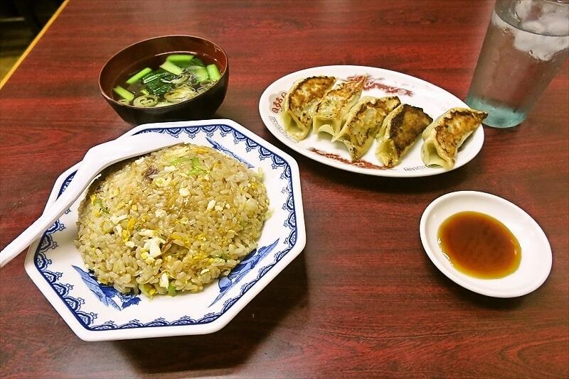 『明華』チャーハン&餃子