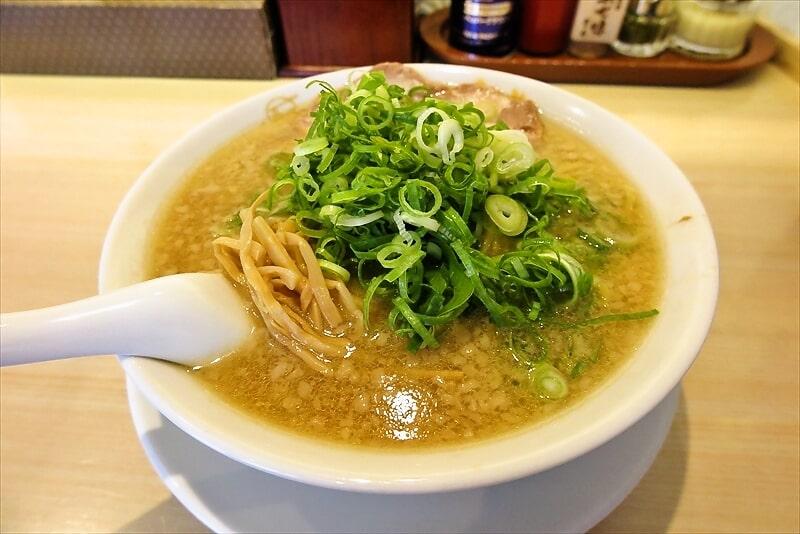 『京都ラーメン森井』醤油豚骨ラーメン1