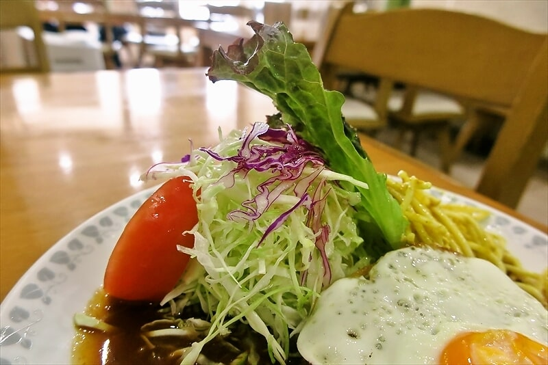 『洋食おがわ』ハンバーグ(ライス付き)3