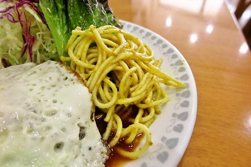 『洋食おがわ』ハンバーグ(ライス付き)4