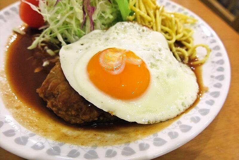 『洋食おがわ』ハンバーグ(ライス付き)5
