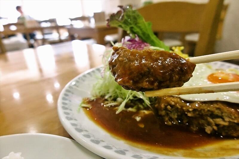 『洋食おがわ』ハンバーグ(ライス付き)7