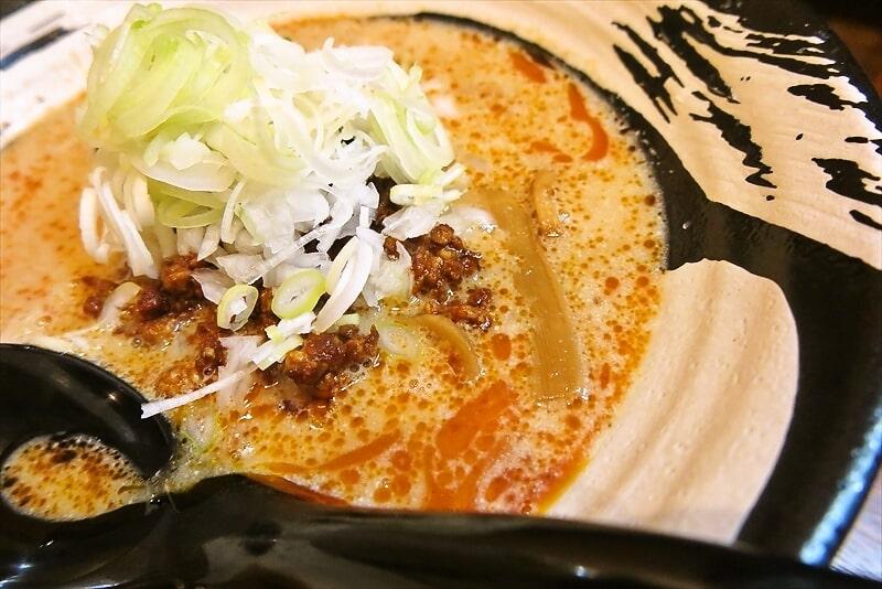 『らーめん屋 小川』担々麺4