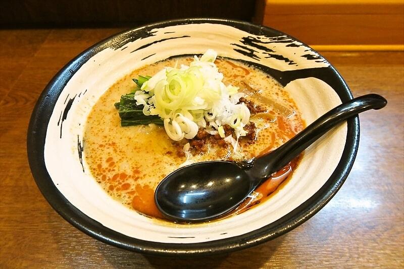 『らーめん屋 小川』担々麺1