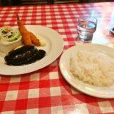 『れすとらん・サンロード』ハンバーグとエビフライ定食@JR菊名駅