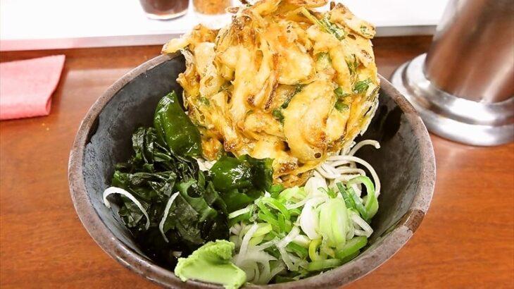 『新田毎』駅蕎麦で天ぷらそばを食べる時@JR秋葉原駅構内