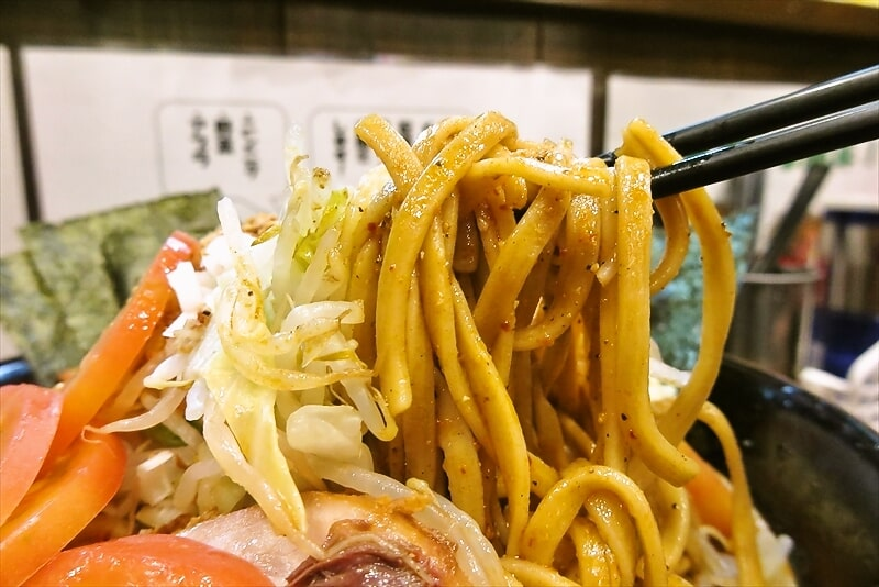 『麺屋 歩夢』辛い冷やし中華大7