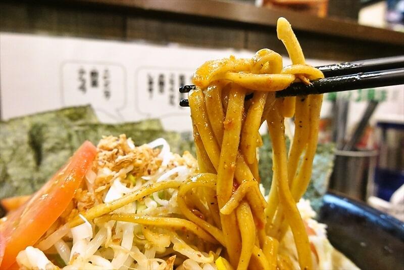 『麺屋 歩夢』辛い冷やし中華大8