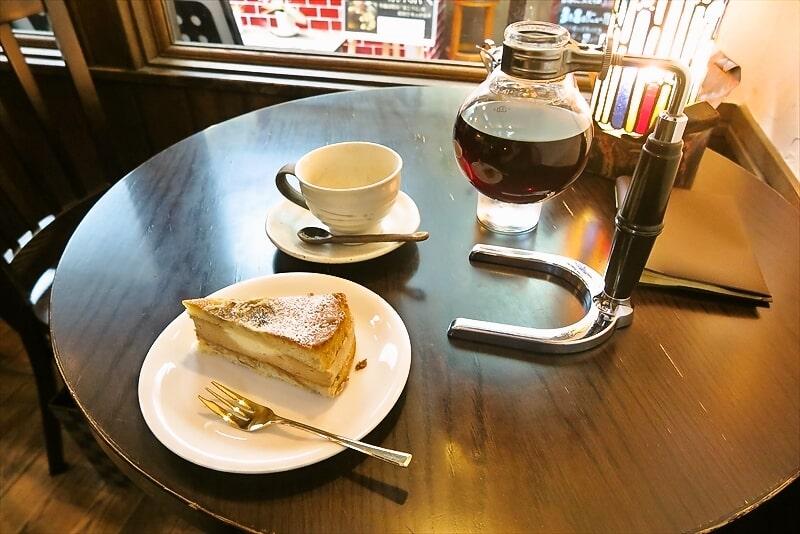 『珈琲 文明』バナナのケーキ1