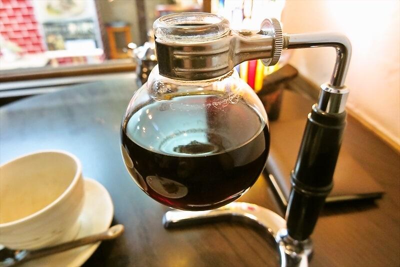 『珈琲 文明』サイフォン式コーヒー