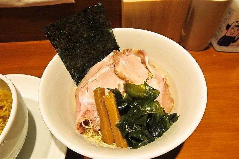 『拉麺 伍年食堂』つけ麺2