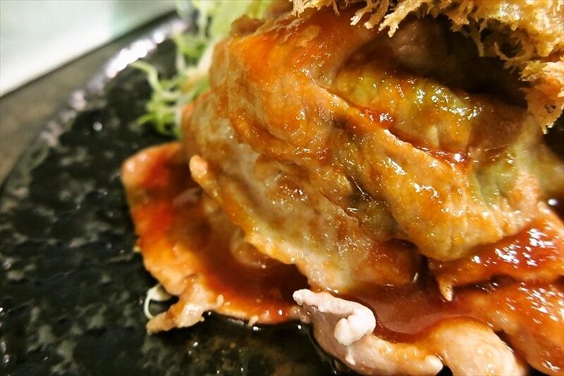 『まえだや』生姜焼き定食&アジフライ4