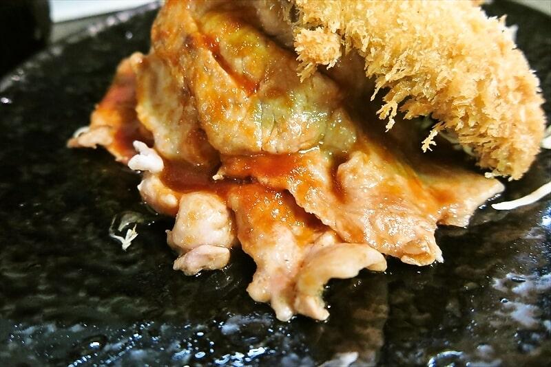 『まえだや』生姜焼き定食&アジフライ3