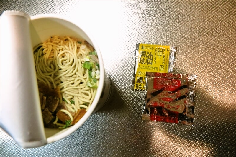 『エースコック 麺尊RAGE 軍鶏だし中華そば』6
