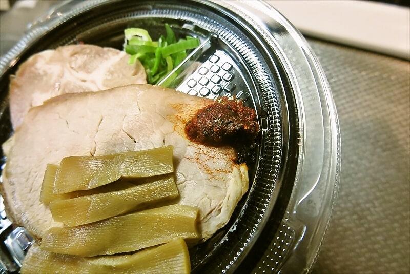 『とみ田監修 濃厚豚骨魚介 冷しW焼豚つけ麺』6