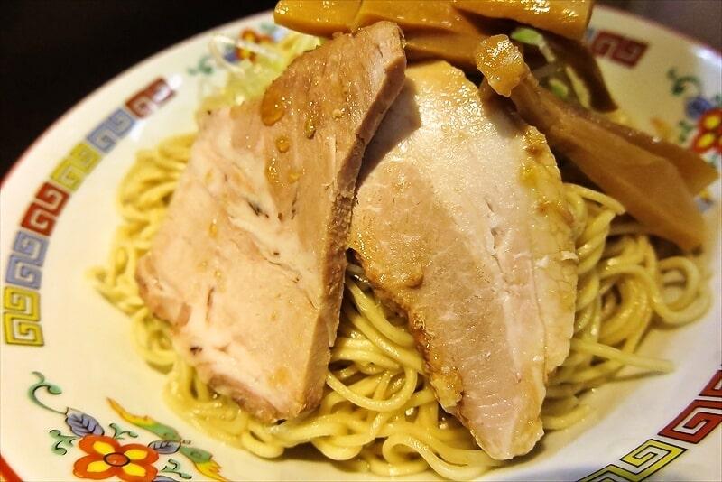 『煮干中華 余韻』凝縮煮干つけ麺大盛り4