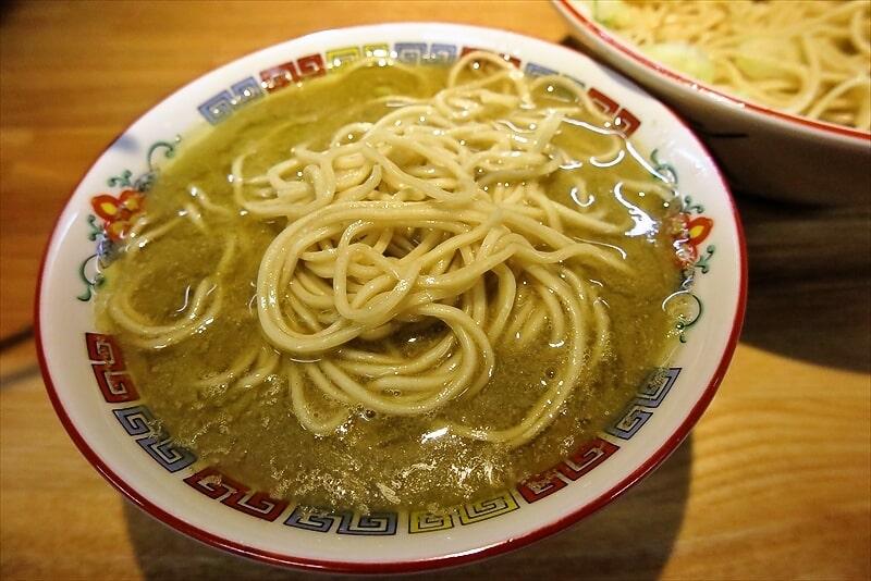 『煮干中華 余韻』凝縮煮干つけ麺大盛り8