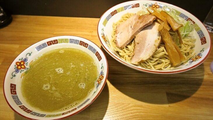 『煮干中華 余韻』凝縮煮干つけ麺大盛りが美味しい件@相模原