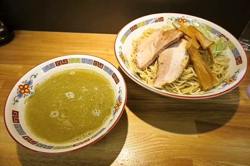 『煮干中華 余韻』凝縮煮干つけ麺大盛り1