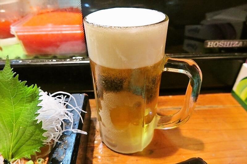 『遊喜や』生ビール