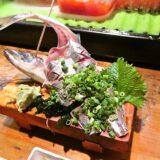 『遊喜や』アジの刺身&握り寿司でどうでしょう?@淵野辺