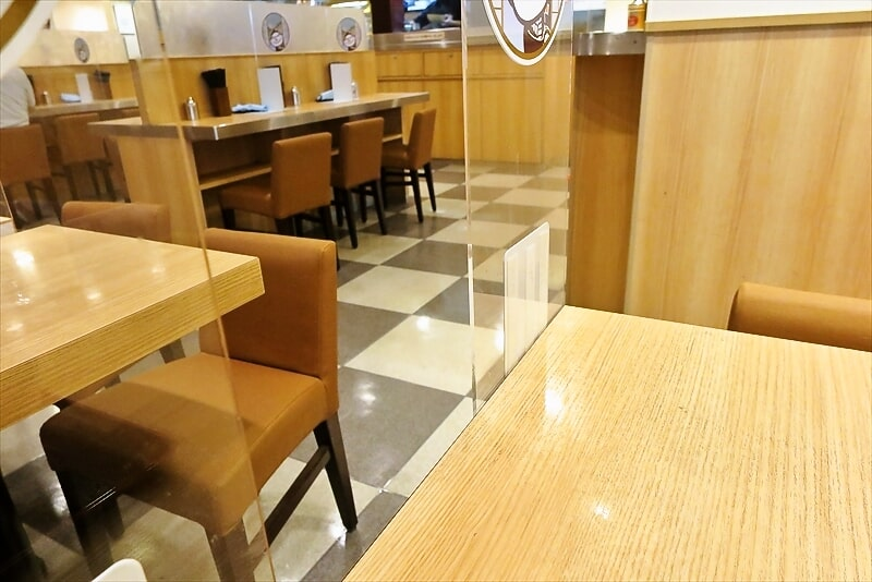 『箱根そば』店内写真