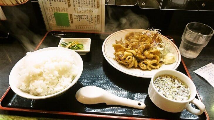 【淵野辺】『中華飯店 百年』生姜焼き定食どうでしょう?【町中華】