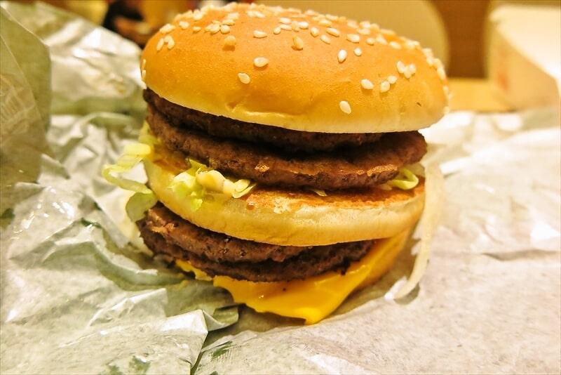 マクドナルド『倍ビッグマック』1