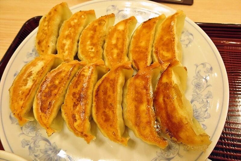 『ぎょうざの満州』ダブル餃子定食2