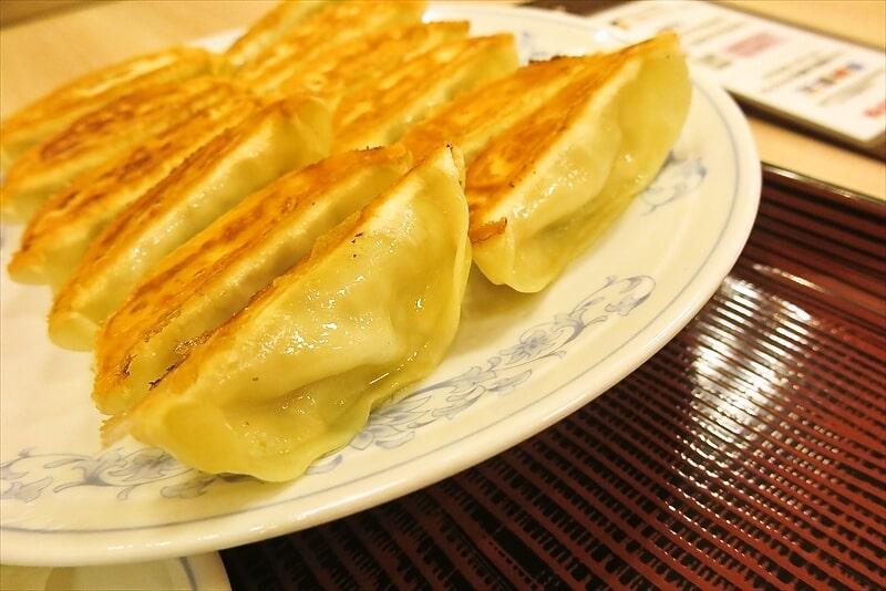 『ぎょうざの満州』ダブル餃子定食4