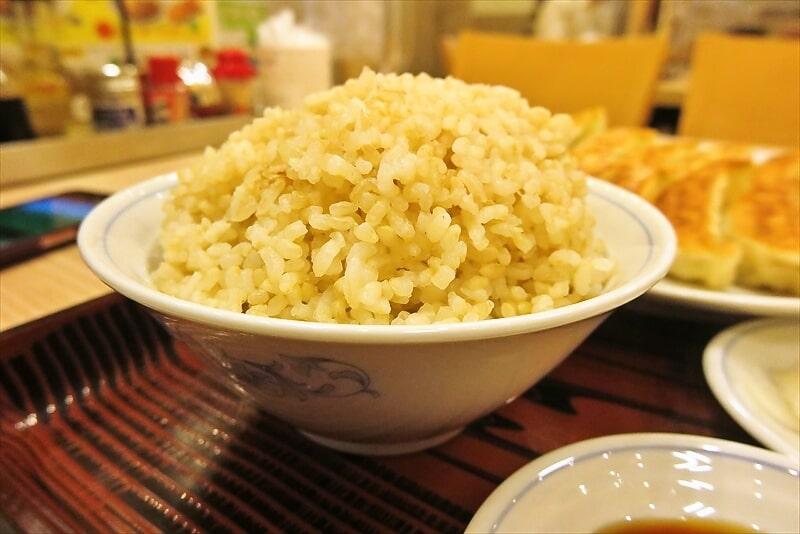 『ぎょうざの満州』ダブル餃子定食6