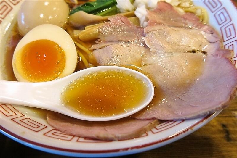 『麺・餃子 まる壱』醤油ラーメン7