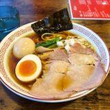 相模原『麺・餃子 まる壱』醤油ラーメンを食べる時