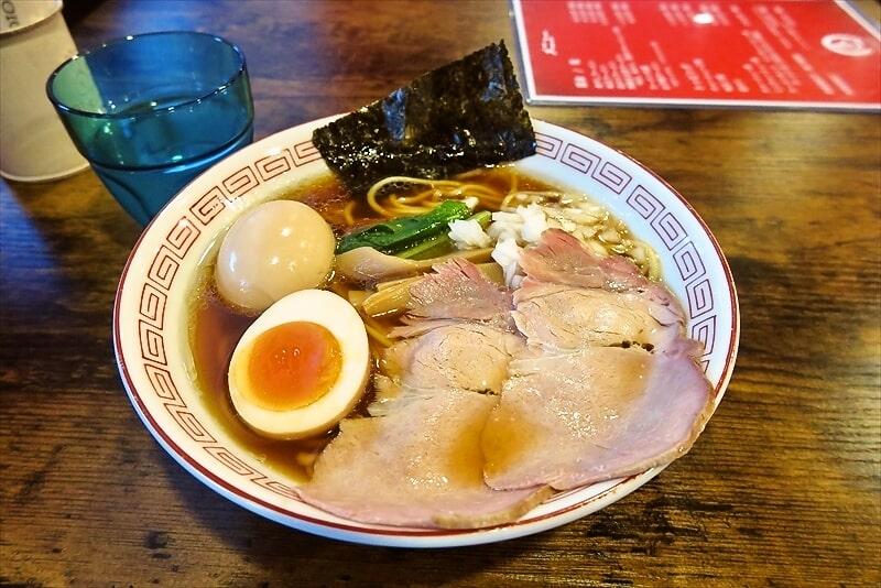 『麺・餃子 まる壱』醤油ラーメン1